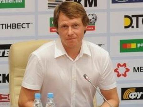 Олег Кононов грою задоволений, результатом - ні