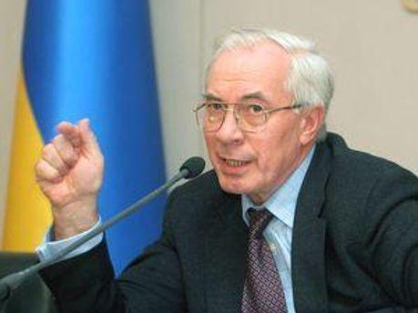 Микола Азаров експерементує над Україною
