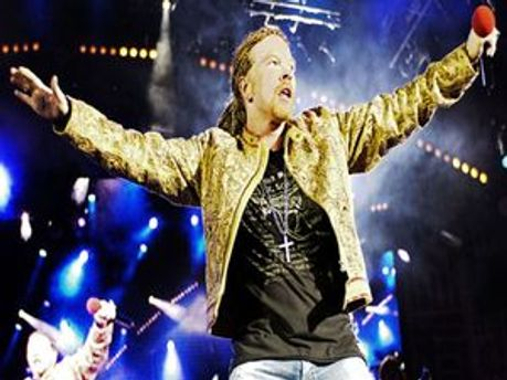 Фронтмен Guns N'Roses  - Аксель Роуз