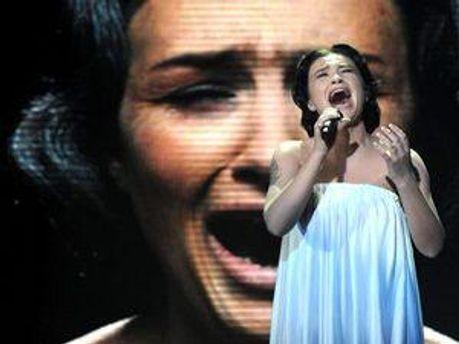 Анастасія Приходько на Євробаченні у 2009-му