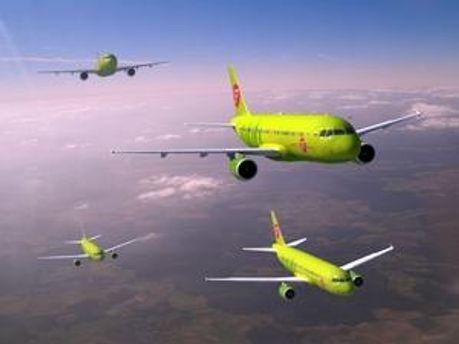 Літаки авіакомпанії S7 Airlines