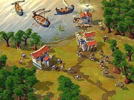 Скрін-шот із Age of Empires Online.