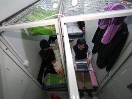 Квартири-капсули в Японії