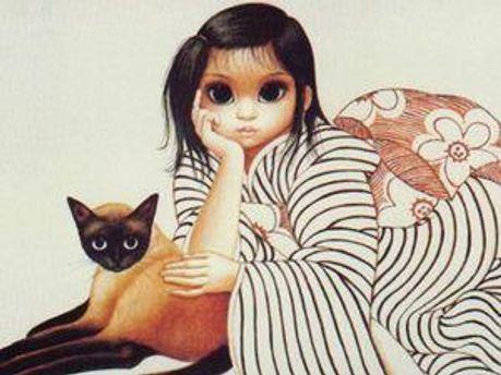 Картина Маргарет Кін
