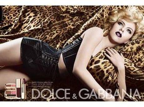 Скарлетт Йоханссон у новій рекламі Dolce & Gabbana