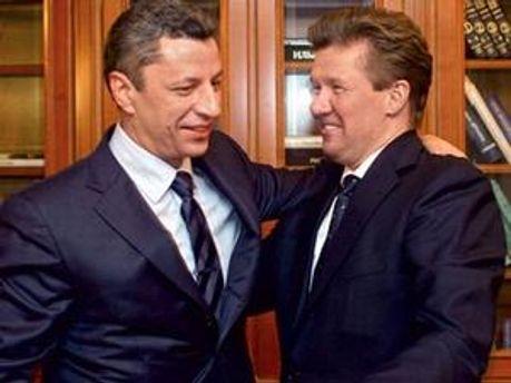 Олексій Міллер і Юрій Бойко