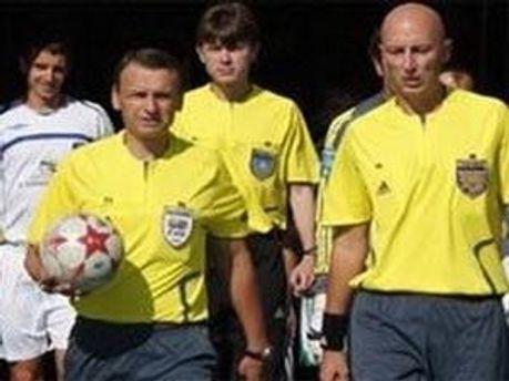 Андрій Шандор судитиме матч в Дніпропетровську