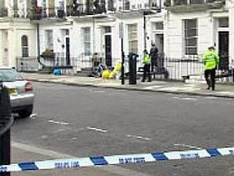 Поліція оточила вулицю, де сталось вбивство