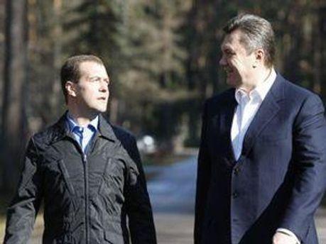 Дмитро Медведєв та Віктор Янукович знову зустрінуться