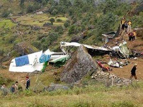 Аварія літака у Непалі