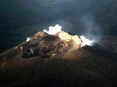 Виверження вулкану Галерас