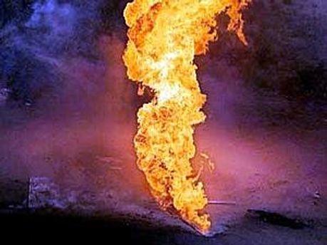 На газопроводі у Туреччині спалахнула пожежа
