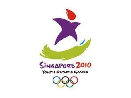 Логотип першої юнацької Олімпіади