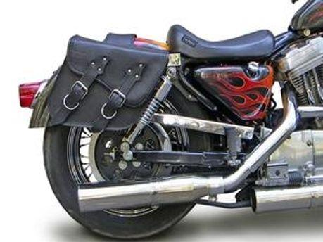 Підлітки вкрали сумку, яка була на мотоциклі