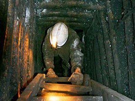 У шахті