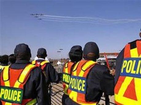 Поліцейські у ПАР