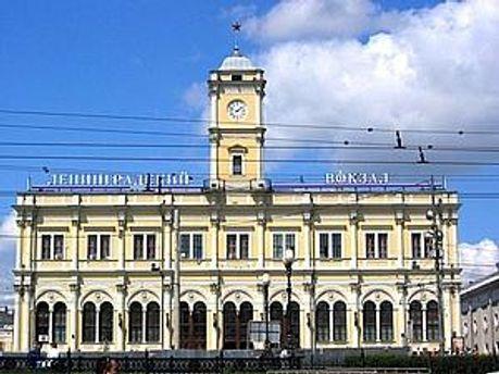 Ленінградський вокзал в Москві