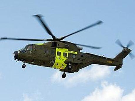 Гелікоптер ВМС Данії