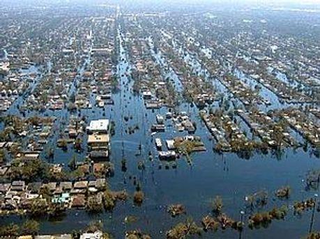 Затоплений Новий Орлеан