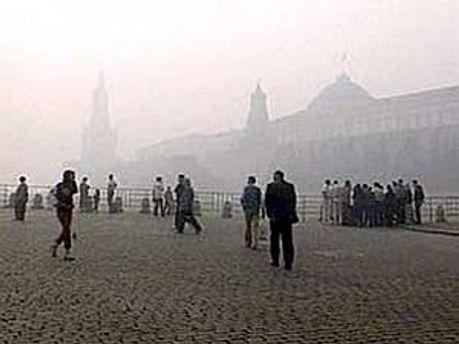 Декілька тижнів тому Москву накрив сильний смог