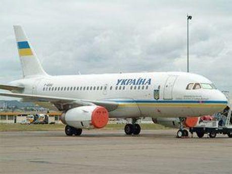 На такому літаку Президент України вилетів до Німеччини