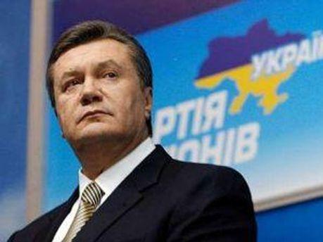 Головний регіонал Віктор Янукович