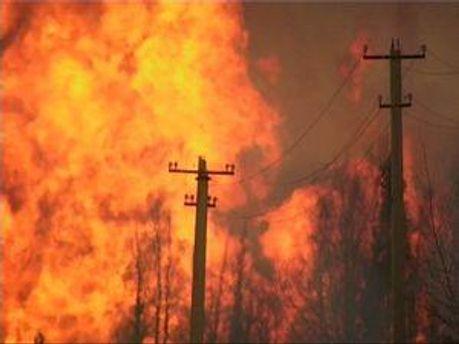 Вогонь загрожував сусіднім будинкам