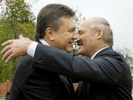 Янукович привітав Лукашенка