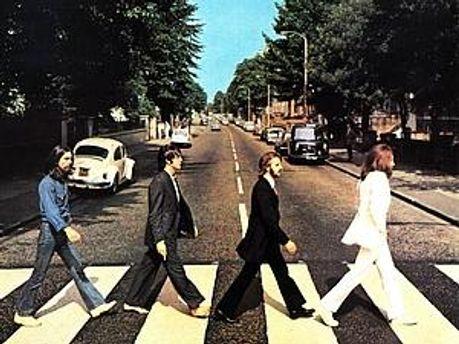 Фрагмент обкладинки альбому Abbey Road