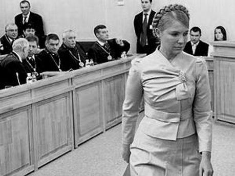 Тимошенко у суді — політичний тиск, — ПР
