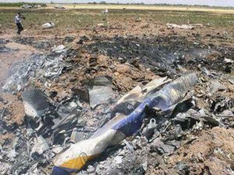 Літак зазнав аварії через несприятливі погодні умови