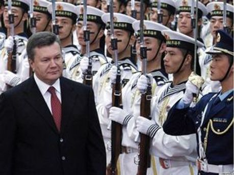 Віктор Янукович у Китаї (архів)