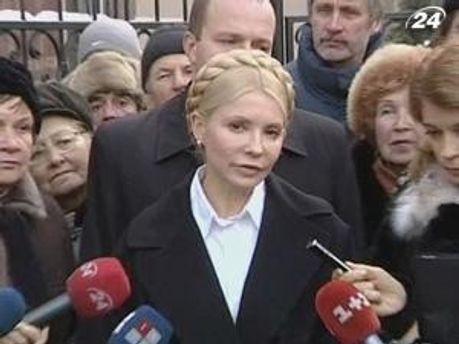 ГПУ вважає, що Юлія Володимирівна на них піариться