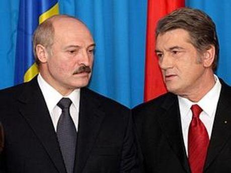 США прямим текстом заборонили Ющенку зустрічатись з Лукашенко