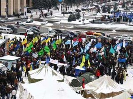 Міліція переіодично викликає на допити учасників акцій протесту