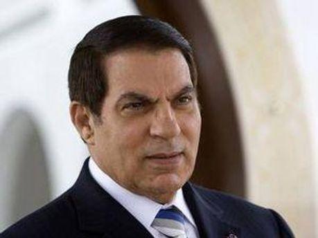 Президент Тунісу Зін аль-Абідін бен Алі