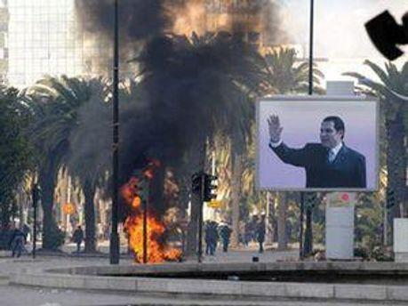 Безлади у Тунісі