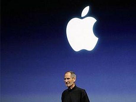Після новину про лікарняний Джобса акції Apple впали на 8%