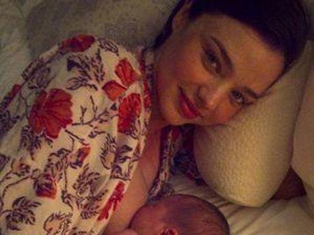 Міранда опублікувала перше фото сина Флінна на своєму блозі