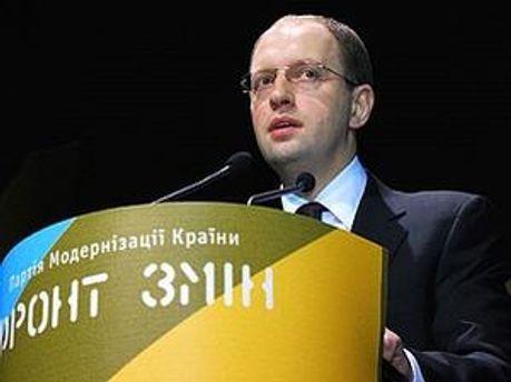 Яценюк пообіцяв відправити представників партії на Софіївську