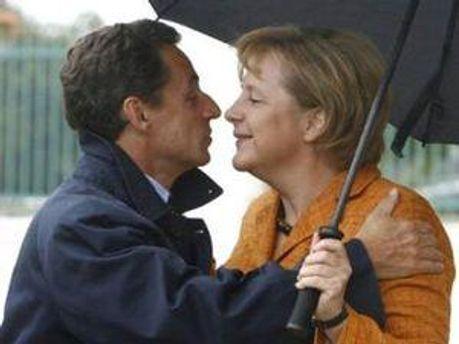 Свої ідеї Ангела Меркель бере у французького колеги