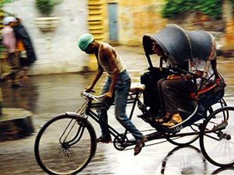 Рикша справді екологічно чистий