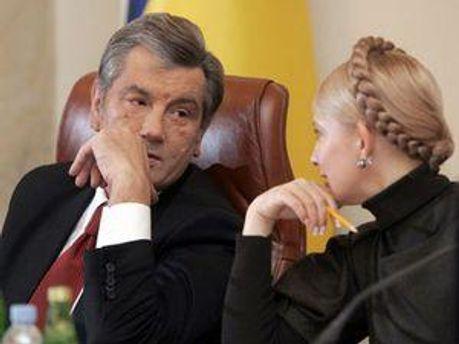 Віктор Ющенко та Юлія Тимошенко - знову друзі