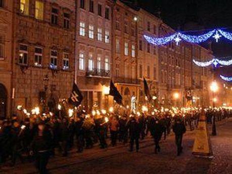 Минулого року праві організації пройшли маршом по Львову