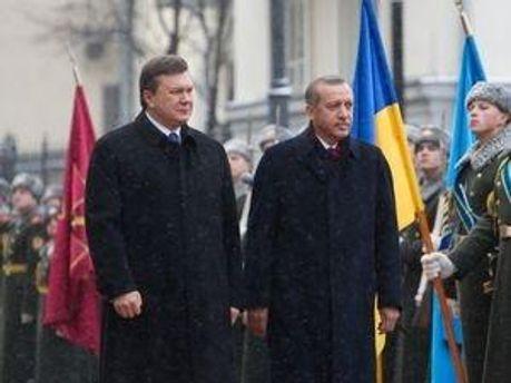 Віктор Янукович та Реджеп Таїп Ердоган