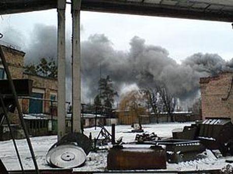 21 грудня 2010 року на шахті почалась пожежа