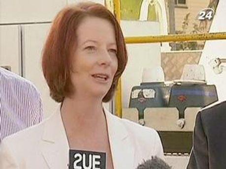 Джулія Гіллард скоротила витрати бюджету на 675 млн австралійських доларів
