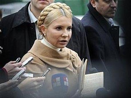 Тимошенко стверджує, що проти неї фальсифікують справи