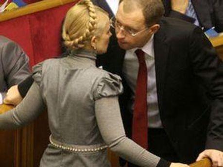 Юлія Тимошенко і Арсеній Яценюк будуть у студії