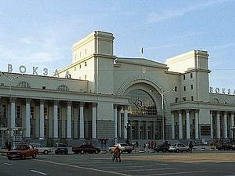 Зараз вокзал працює у звичному режимі